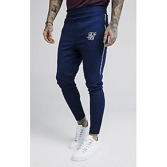 SIK SILK Navy Zonal Track Pants
