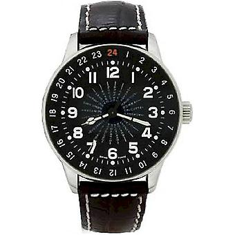 Zeno-Watch Herrenuhr X-Large Pilot world timer P554WT-a1