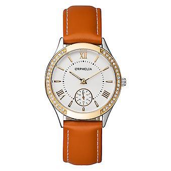 ORPHELIA hyvät vastaavuus katsella MasterGlam Brown Leather 11501