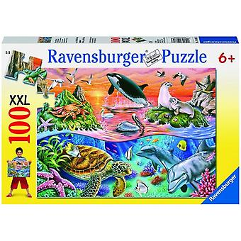 Ravensburger XXL 100 Piece Beautiful Ocean Puzzle