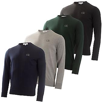 Calvin Klein Mens Liberty Tour Merino Easy Care Sweater