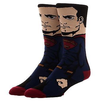 Justice League Superman Character Crew sokker-en størrelse