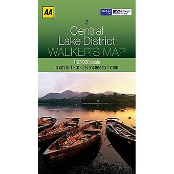 Central Lake District by AA Publishing - 9780749573133 Book