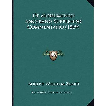 de Monumento Ancyrano Supplendo Commentatio (1869) by August Wilhelm