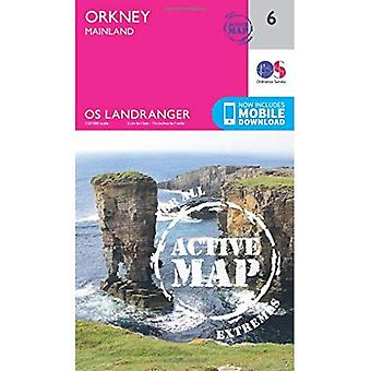 Orkney - Mainland (OS Landranger Map)