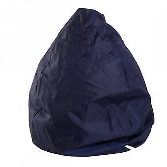 Rebecca muebles pouf sillón bolsa azul oscuro relax confor Silla tapizada muebles Puff House