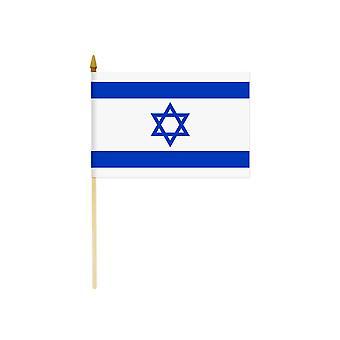 Izrael Hand Held flaga