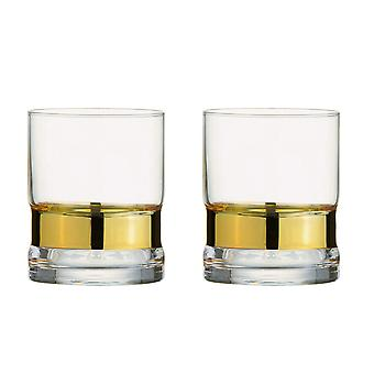 Anton Studio Soho Set of 2 Tumblers, Gold