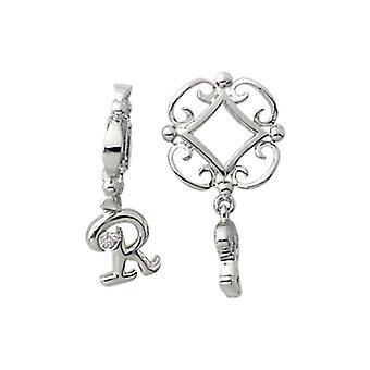 Storywheels sølv R første Dangle Charm S217D