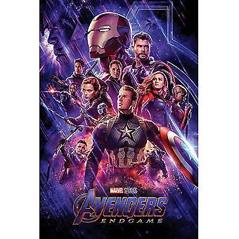 Avengers Endgame Journeys End Poster