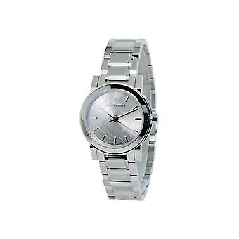 Burberry Bu9229 gris cadran en acier inoxydable Mesdames montre