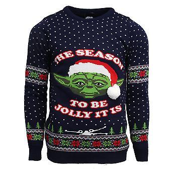 Officiële Star Wars Master Yoda kerst Jumper / lelijke trui