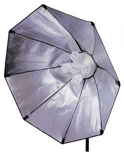 BRESSER SS-18 Octabox 120cm für 5 Spirallampen