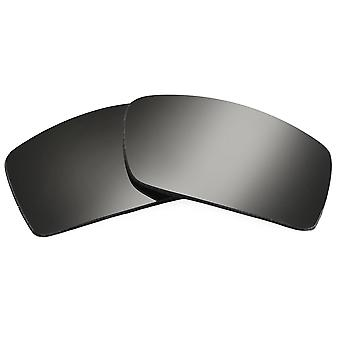 Replacement Lenses for Oakley Gascan Sunglasses Dark Black Iridium Anti-Scratch Anti-Glare UV400 by SeekOptics