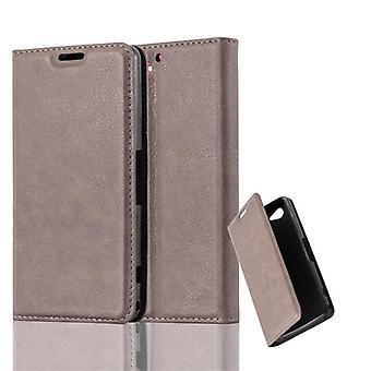 Cadorabo Sag til Sony Xperia Z2 COMPACT sag dække - Telefon sag med magnetisk lås, stå funktion og kortrum - Sag Cover Beskyttende sagbog Foldestil