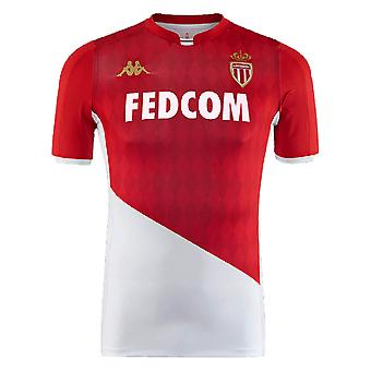 2019-2020 AS Monaco Kappa Home shirt (kinderen)