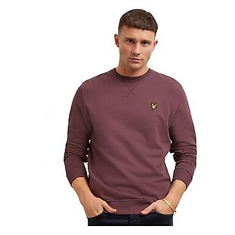 Lyle & Scott Crew Neck Sweatshirt Berry
