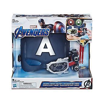 Marvel Avengers Capitão América Endgame Scope Vision capacete