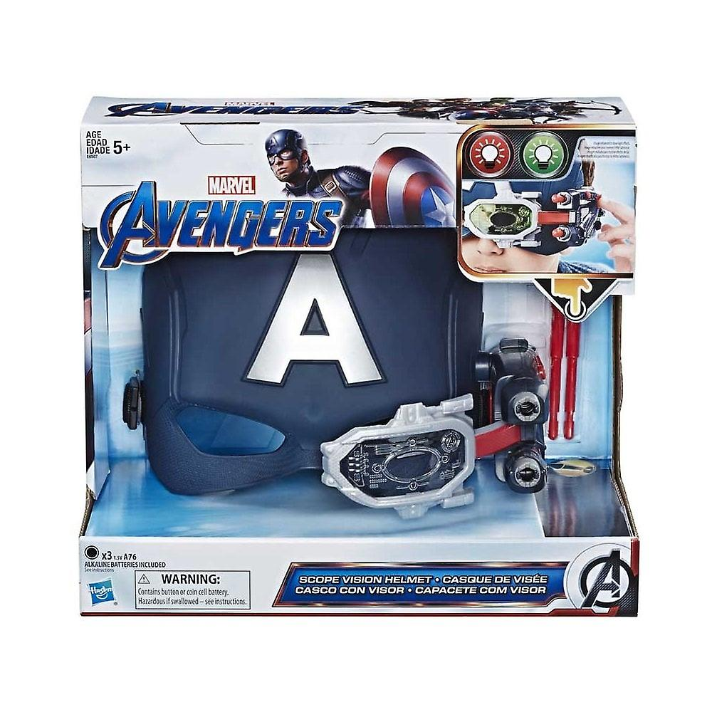 Marvel Avengers Captain America slutspel scope vision hjälm