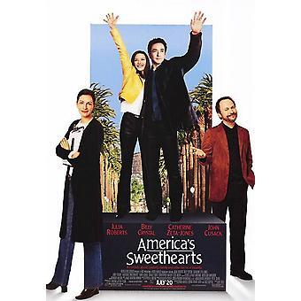 Amerika's Sweethearts (einseitig) Original Kino Poster