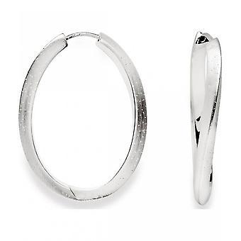 バスティアンインヴルン - シルバーイヤリングクレオールダイヤモンドメッキ - 20720