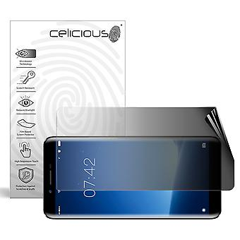 Celicious Privacy 2-Way Landscape Anti-Spy Filter Protector Film Compatible avec DOOGEE X60L