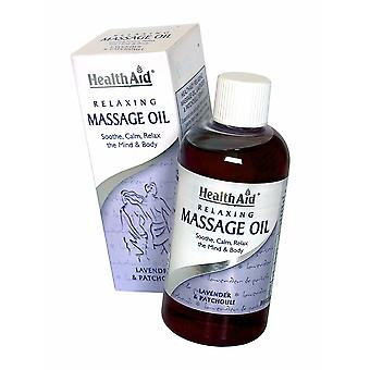 Health Aid Relaxing Massage Oil, 150ml
