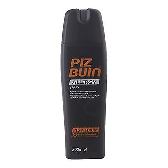 Spray sunscreen Allergy Piz Buin Spf 15 (200 ml)