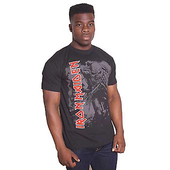 Iron Maiden The Trooper Mono Piece of Mind Official T-Shirt