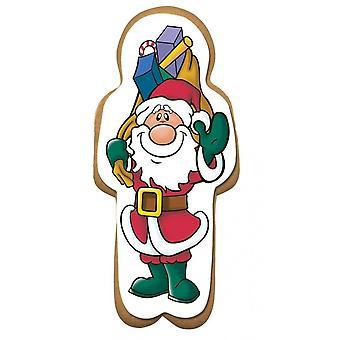 Culpitt Santa e presentes para o homem do pão de gengibre