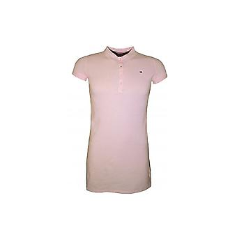 Tommy Hilfiger Girls Pink Essential Polo Dress