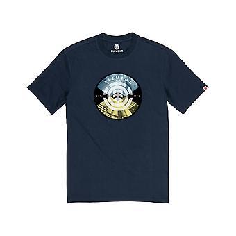 Element Aiken Short Sleeve T-Shirt in Eclipse Navy
