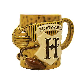 Harry Potter Mug Quidditch 3D Shaped new Official Novelty Boxed