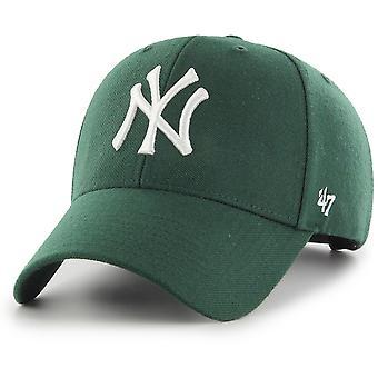 47 Brand Snapback Cap - MLB New York Yankees vert foncé
