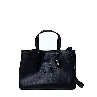 ARMANI EXCHANGE 942646CC793 Black Women's Bag (BLACK - BLACK 00020)) 24x16x35 cm (B x H x T)