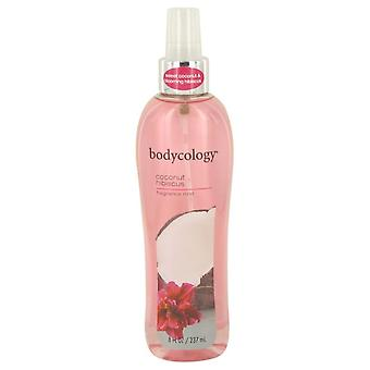 Bodycology coconut hibiscus body mist by bodycology 535868 240 ml