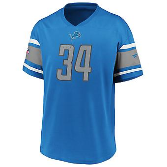 Ikoniske Poly Mesh Supporters Jersey Trikot - Detroit Lions
