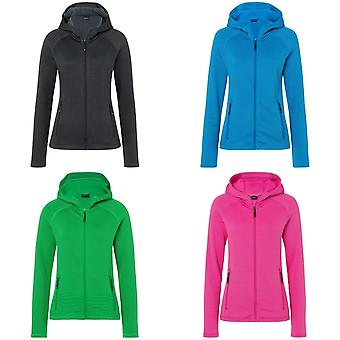 James and Nicholson Womens/Ladies Stretch Fleece Jacket