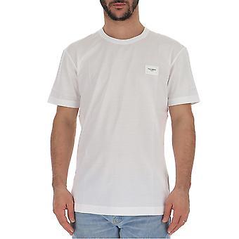 Dolce E Gabbana G8kj9tfu7eqw0800 Men's White Cotton T-shirt