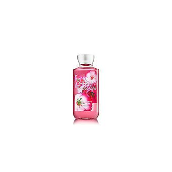 (2 Pack) Bath Body Works Shea Vitamin E Shower Gel Cherry Blossom
