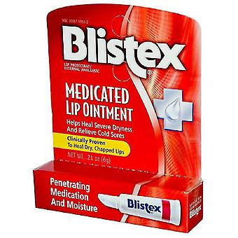 Blistex medicated lip ointment, 0.21 oz