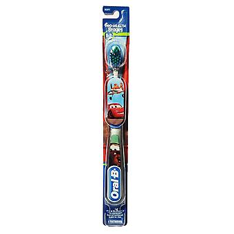 Oral-b pro-health toothbrush, stages 5-7, disney cars, 1 ea