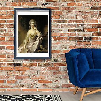 Thomas Gainsborough - deputada Drummond Poster impressão giclée