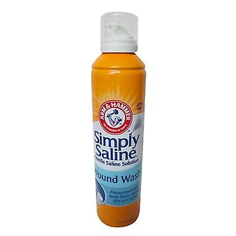 Arm & hammer simply saline wound wash, 7.1 oz