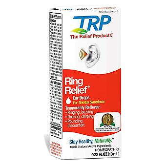 The relief products ring relief homeopathic ear drops, 0.33 oz