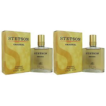 Stetson original 3.5 oz aftershave 2 pack