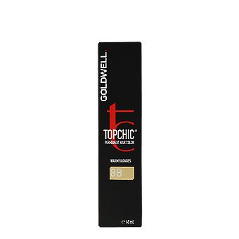 Goldwell Top Chic 8B Warm Blondes Sea Sand Permanent Hair Color 60ml