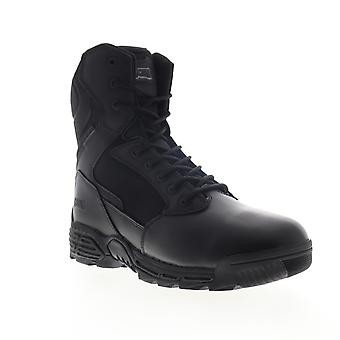 Magnum Stealth Force 8.0 SZ  Mens Black Leather Tactical Boots Shoes