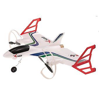 X420 6Ch 2.4GHz despegue y aterrizaje Vertical RTF RC avión