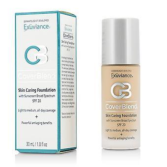 Coverblend Skin Caring Foundation Spf20 - # True Beige - 30ml/1oz